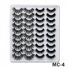 6D Mink False Eyelashes Handmade Extension Beauty Makeup False Eyelashes MC-4