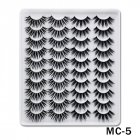 6D Mink False Eyelashes Handmade Extension Beauty Makeup False Eyelashes MC 5
