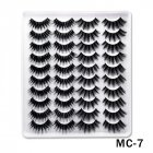 6D Mink False Eyelashes Handmade Extension Beauty Makeup False Eyelashes MC 7