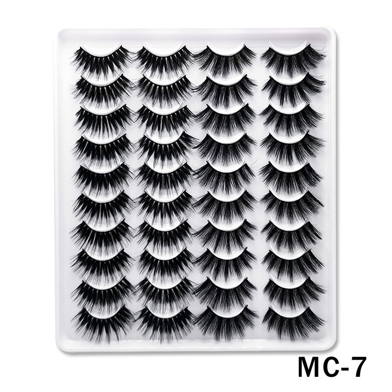 6D Mink False Eyelashes Handmade Extension Beauty Makeup False Eyelashes MC-7