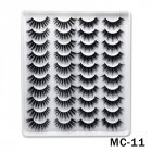 6D Mink False Eyelashes Handmade Extension Beauty Makeup False Eyelashes MC 11