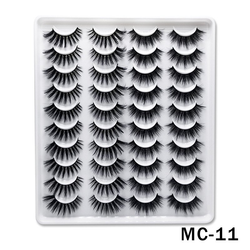 6D Mink False Eyelashes Handmade Extension Beauty Makeup False Eyelashes MC-11