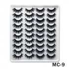 6D Mink False Eyelashes Handmade Extension Beauty Makeup False Eyelashes MC-9