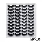 6D Mink False Eyelashes Handmade Extension Beauty Makeup False Eyelashes MC-10