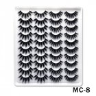 6D Mink False Eyelashes Handmade Extension Beauty Makeup False Eyelashes MC-8