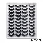 6D Mink False Eyelashes Handmade Extension Beauty Makeup False Eyelashes MC-13