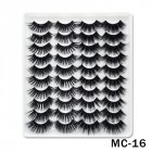 6D Mink False Eyelashes Handmade Extension Beauty Makeup False Eyelashes MC-16