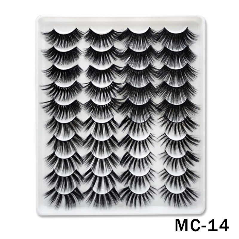 6D Mink False Eyelashes Handmade Extension Beauty Makeup False Eyelashes MC-14