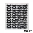6D Mink False Eyelashes Handmade Extension Beauty Makeup False Eyelashes MC-17