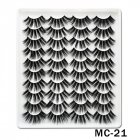 6D Mink False Eyelashes Handmade Extension Beauty Makeup False Eyelashes MC 22