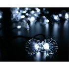 6M 30LEDs Solar Powered Morning Glory Shape String Light with Stent White light_(ME0004701)