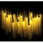 6M 30LEDs Waterproof Solar Powered Icicle Shape String Lights for Outdoor Tree Decor Warm White  ME0004502
