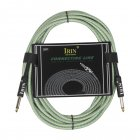 6M Cable Guitar Connecting Line Musical Instrument Accessories Green 6 meters