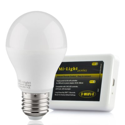 LED Light Bulb w/ Wi-Fi Control Kit