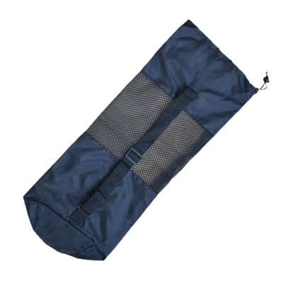 6mm TPE Yoga Mat Net Bag Breathable High Strength Storage Bag Pocket Perfect Fitness Equipment black_183*61*0.6cm