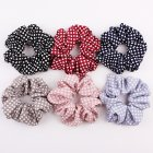 6pcs/set Lady Fashion Stripe Polka Dot Plaid Hair Decoration Set Dot set