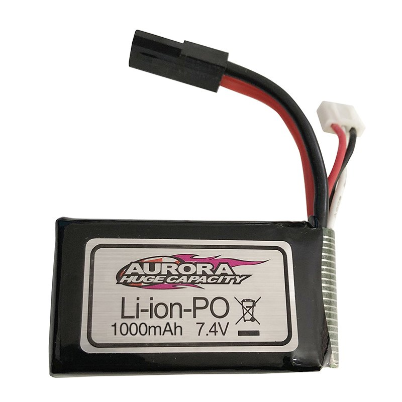7.4V 1000MAH/7.4V 500MAH Lipo Battery for XLH Xinlehong 9130 9136 9137 Q901 Q902 Q903 1/16 2.4G RC Car Parts 7.4V 1000mAh