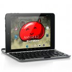 7 85 Inch Quad Core Android Tablet has an IPS Screen  an A31S 1GHz CPU  1G RAM  16GB ROM and a Detachable Keyboard
