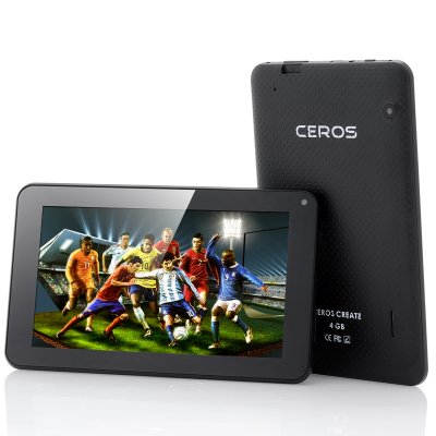 E-Ceros Create 7 Inch Android Tablet (Black)