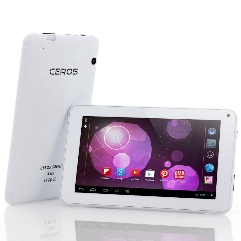 E-Ceros Create 7 Inch Andorid Tablet (White)