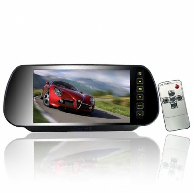 Rearview Mirror Monitor w/ 7 Inch Display