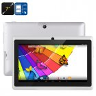 7 Inch Quad Core Tablet comes with an Android 4 4 operating system  A33 CPU  Mali 400 GPU  8GB Internal Memory and OTG support