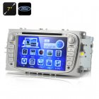7 Inch Screen Car DVD Player For Ford Focus 2009 2012 models supports 1080p video and has GPS and Bluetooth