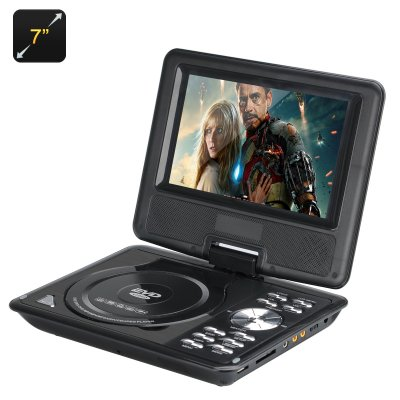 7 Inch Kids Portable DVD Player