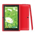 7  Wifi 1024 600 Screen Tablet PC 512 8 EU Standard 3 axis Gravity Induction Tablet PC red European regulations