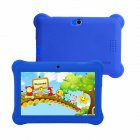 7-inch Children's Tablet Quad-core Android 4.4 Dual Camera Wifi Multi-function Tablet Pc blue