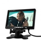 7 inch LCD monitor is a quick and affordable way to transform your boring automobile into a fun and entertaining experience