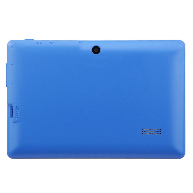 7 inch Tablet PC 1024x600 HD Blue_512MB+8GB