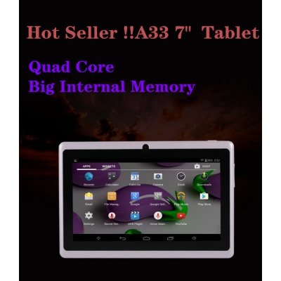 7 inch Tablet PC 1024x600 HD White_512MB+8GB