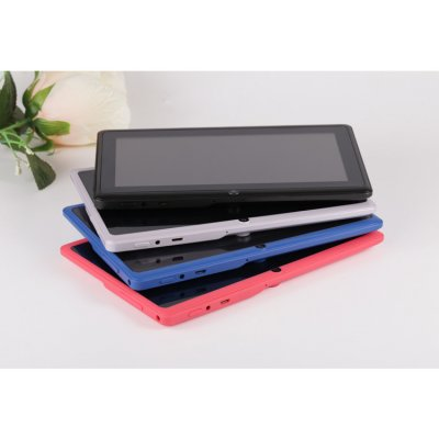 7 inch Tablet PC 1024x600 HD Red_512+4G