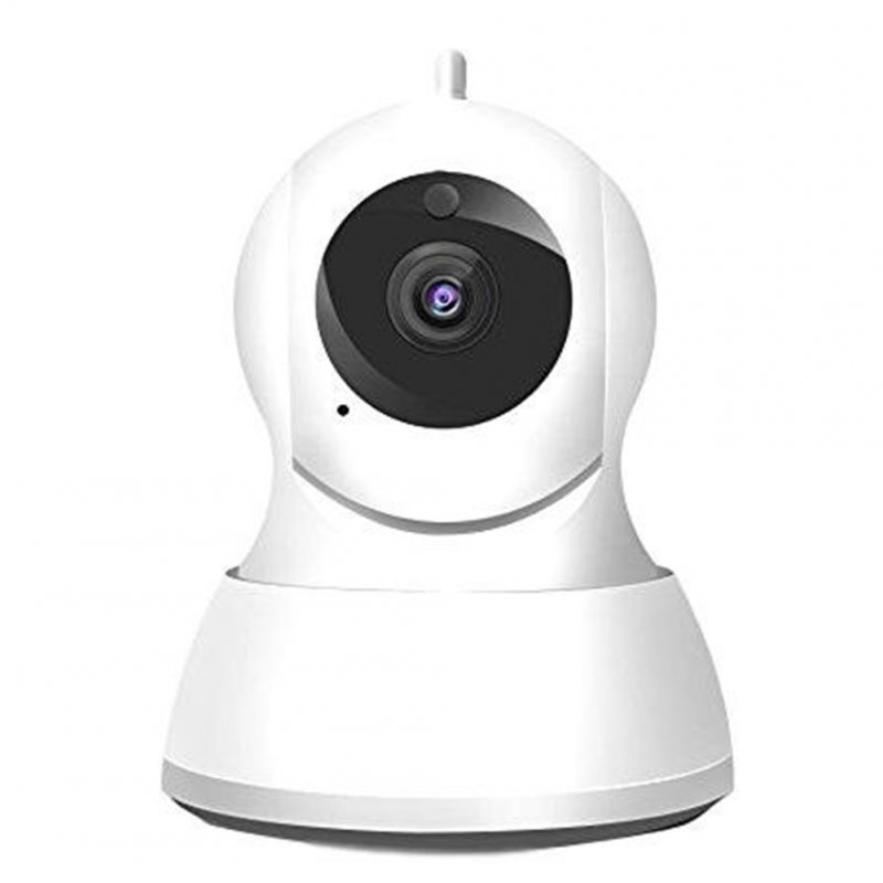 720P/1080P Wireless Security Camera, Home WiFi Wireless Security Surveillance  IP Camera Motion Detection Pan 1080P Full HD no memory (European Standard)