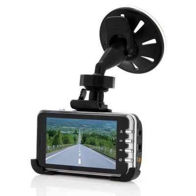 720p HD Car Dashcam with GPS Logger