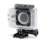 720p HD Sport Camera has a 2 0 Megapixels CMOS Sensor  140 Degree Lens Angle and a 30 Meter Waterproof Range