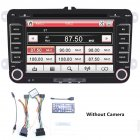 7Inches 2DIN Capacitive Display Car Bluetooth DVD Player MP3/GPS Navigation Integrated Host Without camera