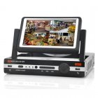 8 Channel DVR With 7 Inch Screen has H 264 Compression  D1 Resolution  HDMI Port and supports Mobile Phone Viewing