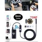 8 LEDs WIFI Endoscope Waterproof Borescope Inspection Camera for Android iPhone