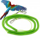 8# Outdoor Flying Elastic Rope for Parrot Birds Training Random Color Ring 8_5 meter flight rope