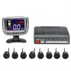8 Ultrasonic Sensor Parking System
