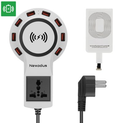 Nexodus LifeLine USB Charging Station (White)