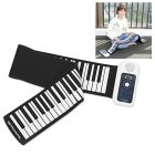 88-key Roll Up Piano Portable Electronic Organ with Horn PD8815_white 88 keys