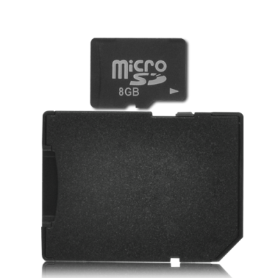 8GB Micro SD Card Adapter