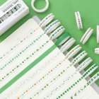 8MM DIY Sticker Type Dividing Line Diary Planner Scrapbook Sticker Label Masking Tape 10#