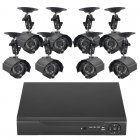 Surveillance Kit w/ 8 Camera + 1TB DVR
