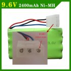 9.6V 2400mAh Remote Controul Toys Eletric toy security faclities eletric AAA batery batery group SM/T/JST Plug AAA NiHM
