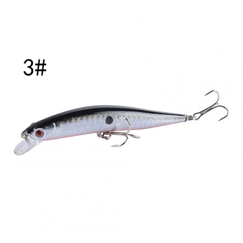 9.8cm/8.2g Fishing Lure Floating Plastic Hard Bait Fishing Fishing Minnow Bionic Bait color-3_9.8cm/8.2g