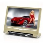 9 Inch Headrest Touch Screen Car Monitor with MP4 Player Function  720p Input and Remote Control